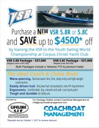 2018 Youth Worlds Coach Boat Purchase Offer